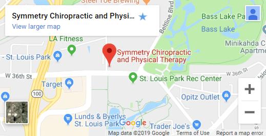 Map of St. Louis Park Chiropractors
